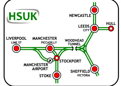 HSUK Northern Powerhouse Diagram