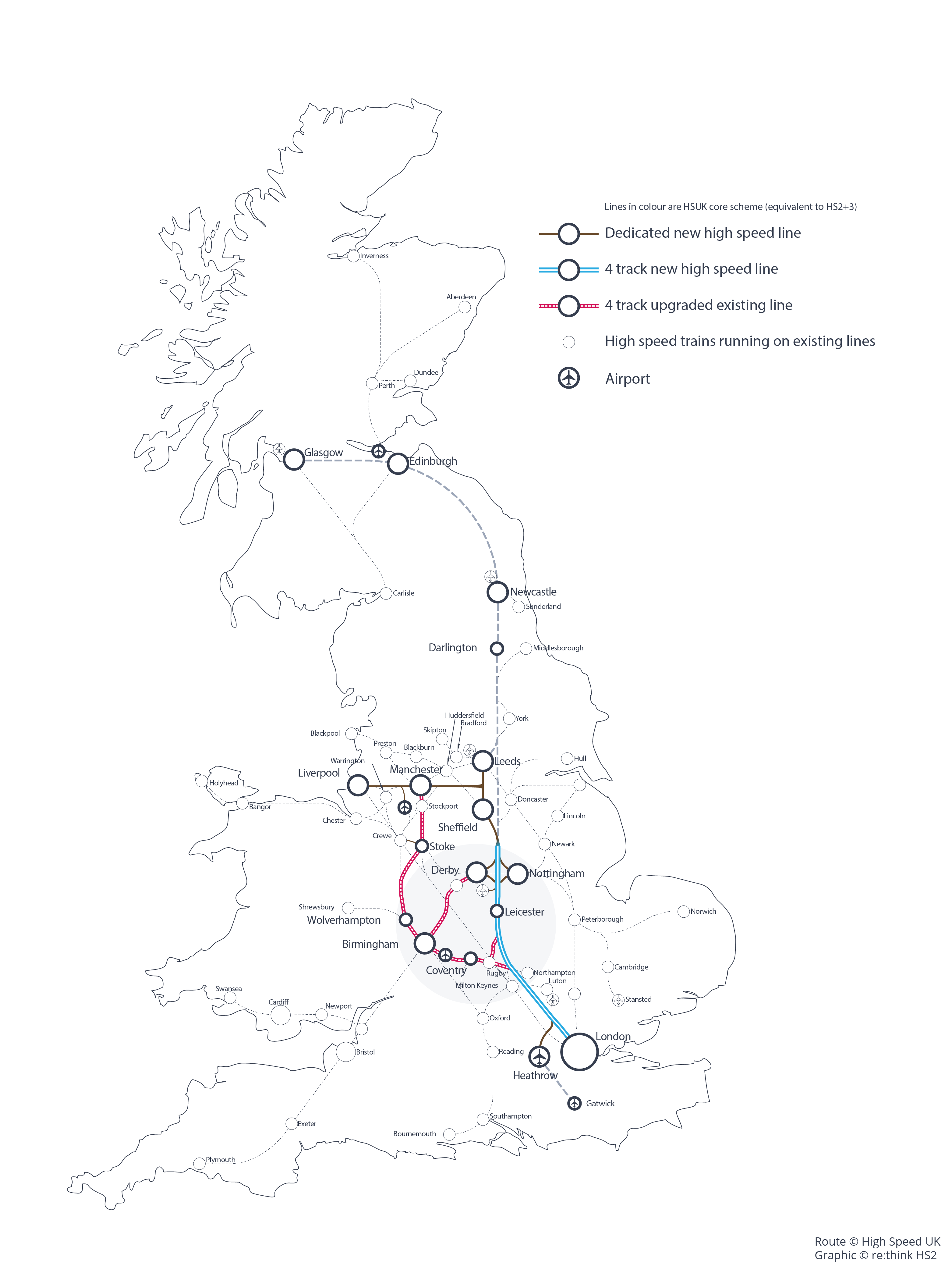 HSUK Route Map